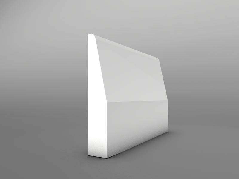Chamfer Mdf Skirting Board 15mm