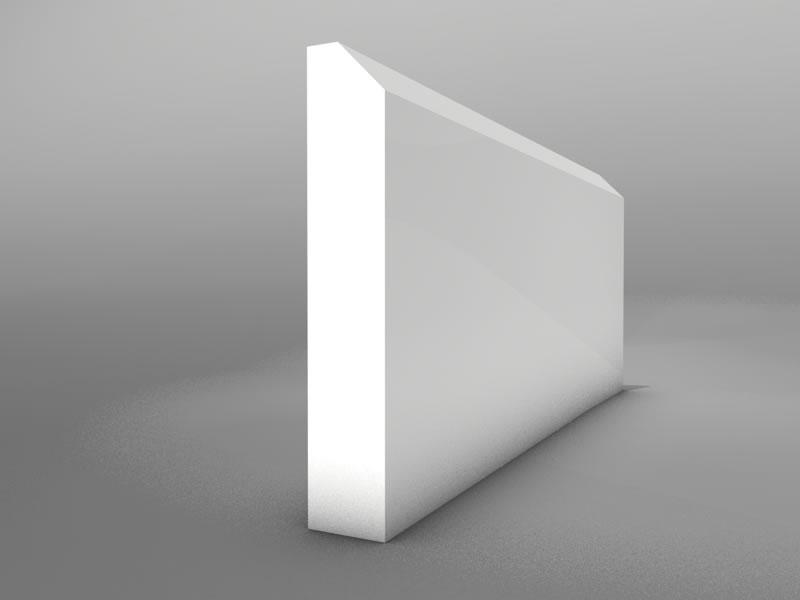 Bevel Mdf 163 6 55 Skirting Board